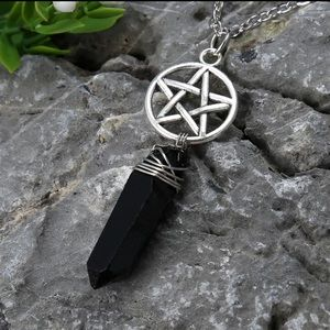 Jewelry - Pentagram Crystal Necklace
